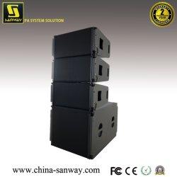 """Vera20 Dual 10"""", woofers y uno de 3"""" del controlador Compact Top Line Array Speake pasiva y S32 18"""" la parte delantera de 14"""" de nuevo subwoofer en línea para el sistema de sonido en vivo"""