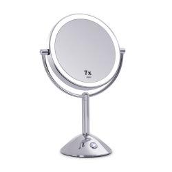 Tisch-Spiegel-Badezimmer-Möbel der runden Form-LED
