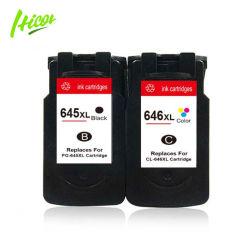 Les cartouches d'encre compatibles Hicor Pg245XL CL246XL éponge complet réusiné imprimante Cartouche jet d'encre pour Canon