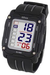 Horloge van de Sport van de manier het Digitale Elektronische met Alarm, Datum, de Eigenschappen van de Chronograaf