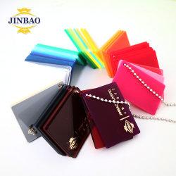 Jinbao 2mm lastra acrilica infrangibile lastra acrilica glitter all'ingrosso acrilica
