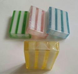 Sapone trasparente Handmade variopinto naturale per il lavaggio facciale