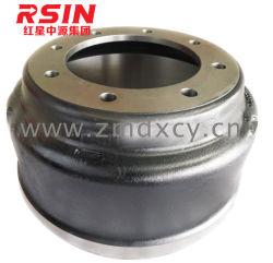 Kic 66250 l'essieu avant du tambour de frein pour camion lourds/Semi-Trailer/remorque de l'usine chinoise (ISO 8062-CT8/TS16949)