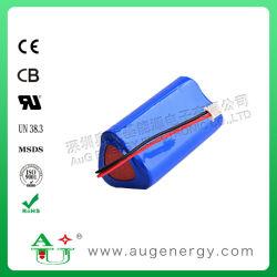 7.4V 5200mAh 18650 Pak van de Batterij van de Hulpmiddelen van de Macht van het Pak van de Batterij van het Lithium het Ionen Navulbare Li-Ionen