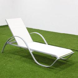 Jardim Sofá-Cama Mobiliário de exterior em forma de S sol de alumínio de vime espreguiçadeiras espreguiçadeira espreguiçadeira