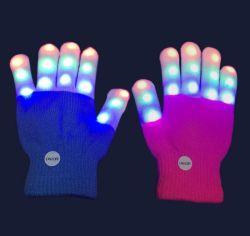 LED-blinkende Neuheit Cosplay helle Handschuhe für Partei