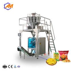 Gránulo de patatas fritas Bolsa de frutos secos de llenado de la bolsita de embalaje la máquina de paquete sellado
