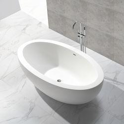 Санитарные продовольственный отдельностоящие камня простой ванной