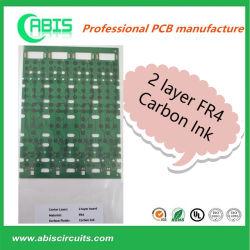 2 слоя FR4 печатной платы на печатных платах с чернилами готово