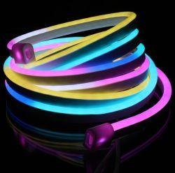Buitengebruik IP68 DMX RGB 15*25mm digitale LED Neon Tube Flex Licht voor kerstvakantie decoratie