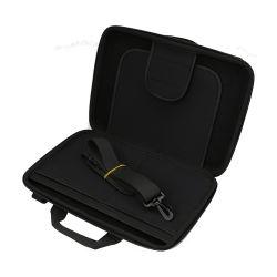 Saco para computador portátil de proteção de 14 polegadas caso o saco para computador portátil com espuma de EVA grande espessura EVA Laptop Caso Estojo rígido EVA EVA para laptop Mala de transporte para laptop