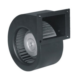 Toyon 133mm Industriële Ventilator van de Ventilator van de Inham van het Metaal van gelijkstroom de EG Plastic Voorwaartse Gebogen Enige