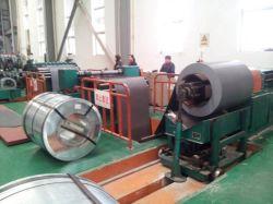 Haute vitesse CRGO entièrement automatique de rouleau de refendage de bobine de tôle en acier au silicium Machine pour le noyau du transformateur