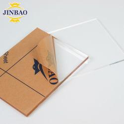 جينباو، البلاستيك الشفاف، البلاستيك الشفاف، البلاستيك الشفاف، قطع بحجم الأكريليك الشفاف لوح زجاجي بطول 4 أقدام × 8 أقدام مخصص للأثاث