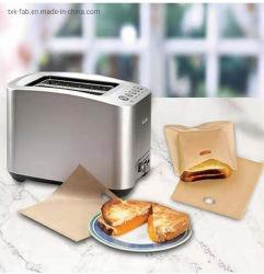 PTFE-toaster tas van glasvezel voor gegrilde Cheese Sandwiches