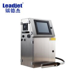 1-4 righe stampante industriale di codificazione della stampatrice del getto di inchiostro della data di scadenza di Cij per la bottiglia della medicina