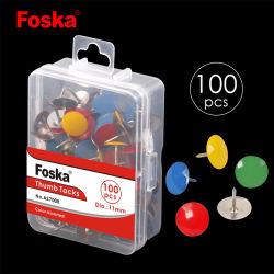 Foska China School and Office Supply Stationery Thumbtacks Drawing Pins