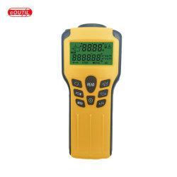 휴대용 디지털 초음파 Laser 거리 측정 미터 및 벽 장식 못 측정기2 에서 1