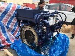 고품질 6기통 수랭식 디젤 엔진 Wp6c250-23이 사용되었습니다 해상용