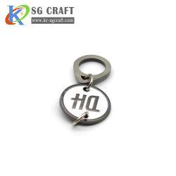Fabrik-kundenspezifischer Metallschlüsselketten-Schlüsselring/kundenspezifisches Keychain, ledernes Keychain, spinnender Schlüsselhalter, kein MOQ