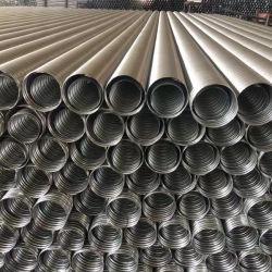 Conduta de espiral de proteção em tubo corrugado Metal Tubo de aço para betão pré-esforçado Ponte de concreto