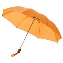 مظلة ترويجية بمقسمين 20 قدمًا مع مقبض بلاستيكي ومعدنية إطار