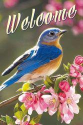 Le meilleur choix sublimer l'impression professionnels personnalisés printemps Jardin des oiseaux d'un drapeau