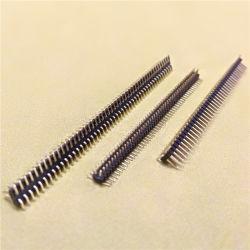 1.27mm 1mm 2mmピッチ4pin 10pin 50pinのソケットPCBのターミナル二重列のまっすぐな男性の電源コネクタPinヘッダ