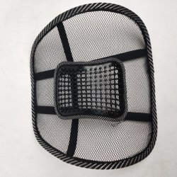 Продажа Crazing меш обратно поясничного подпора стяжку поддержки автомобильное кресло председателя массажная подушечка
