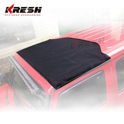 Amalya Kresh 4X4 de tissu de pièces automobiles de la moitié Capote pour Jeep Wrangler jk