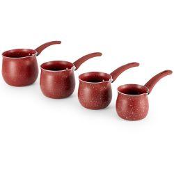 POT urgente del caffè del PC di arabo 3 del bastone dell'alluminio non con la maniglia del silicone