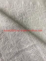 100% puro cotone Bianco pizzo Stock in 57/58' per abbigliamento Tessuti