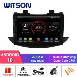 """Witson 9 """" 인조 인간 10 Chevrolet Trax 2017 다중 매체 차량 라디오를 위한 큰 스크린 차 DVD"""