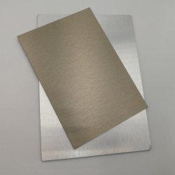 1100 Wire-Drawing Placa Aluminum-Plastic ignífugo