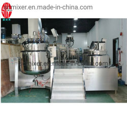 Miscelatore emulsionante sottovuoto Cosmetics Cream da 100 l (omogeneizzatore inferiore)