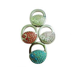 подарок для продвижения оптовых моды основную часть Логотип металлические складные складной кошелек крюк Bag подвеске для регистрации (13)