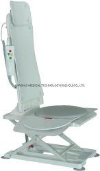 Cor Cinza para casa de banho de hidromassagem usar a Ferramenta de Elevação do banho de chuveiro com placa Banco corrediço