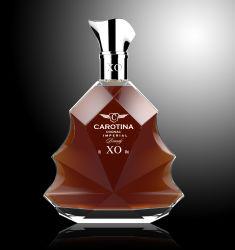 bottiglia di vetro del brandy del whisky della vodka di alcoolici di figura rotonda 700ml