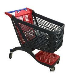 Supermarkt-Einkaufswagen-Plastiklaufkatze