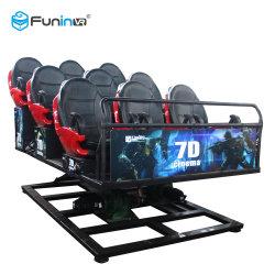Atrações interativas de Cinema de movimento total 3D 5D 7D Sistema de Cinema de tecnologia com holograma