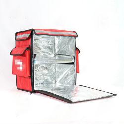 نمط أحمر [1680د] ساخن تسليم بيتزا حقيبة جديد طعام حقائب