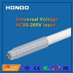 AC85-265V 160 لومن/واط مع مصباح LED مدمج بقوة 600 مم 8 واط طراز T5 أنبوب فلورسنت للمستشفى