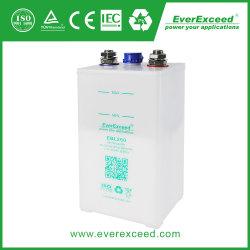 Batterij van NiCd van de Batterij van het Pak van de Accu van NiCd van de Waaier van de Plaat van de Zak Ebl van Everexceed 1.2V100ah de Navulbare Nikkel-cadmium voor de Elektrische centrale van de Spoorweg