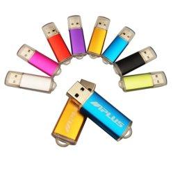 高速USBのフラッシュカスタム金属のロゴのPendrive 4GB 8GB 16GB 32GB 64GB USB 2.0結婚のCle USBのペン駆動機構