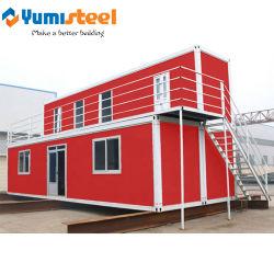 Camera prefabbricata personalizzata materiale del contenitore dell'isolamento termico per la residenza provvisoria
