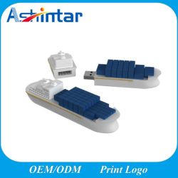 Customed型USBの棒デザイン汽船USBのフラッシュ駆動機構