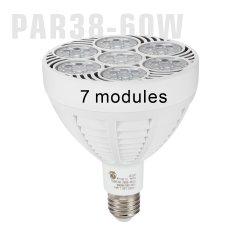 고휘도 60W LED PAR38 전구 110V 220V ETL E26 E27 알루미늄 조광 가능 40W 50W 파 38 PAR38 플러드 LED 의류 매장을 위한 주얼리 램프 전구 스팟 조명 LED