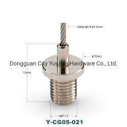Bucle de cable LED de cierre de la luz solar para la foto colgada