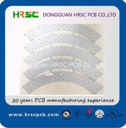 Dongguan-gedrucktes Leiterplatte 94V-0 LED Schaltkarte-Vorstand-Aluminium gedruckte Schaltkarte für LED-Dimmer-Taschenlampe