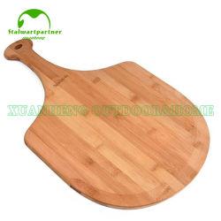 Le bambou Pizza Peel Board planche à hacher la planche à découper en bambou avec poignée